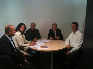 Signature de la convention de partenariat Pôle Emploi-CIDFF04 - 14/10/14