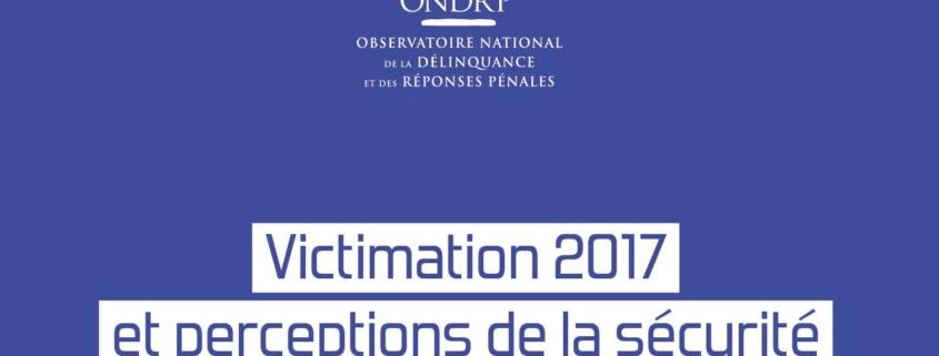 Enquête de victimisation - Actu 13.12.18