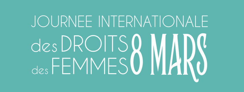 Bandeau 8 Mars Journée Internationale des Droits des Femmes - CIDFF04
